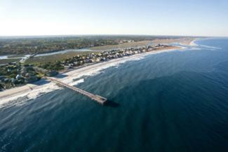 Aerial view of Pawley's Island