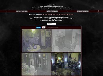 Screenshot of DD David's Ghost Cams