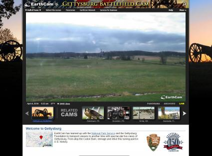 Screenshot of Gettysburg Battlefield Ghost Cam