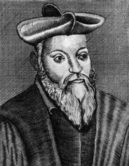 Illustration of Michel de Nostradamus