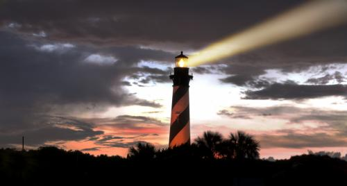 Lighthouse at St. Augustine, Florida
