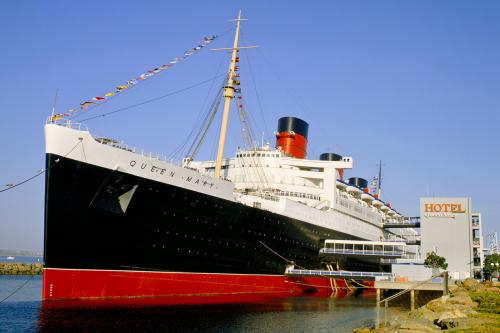 The Queen Mary, Long Beach, California
