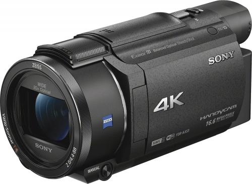 Sony - Handycam AX53 4K Flash Memory Camcorder