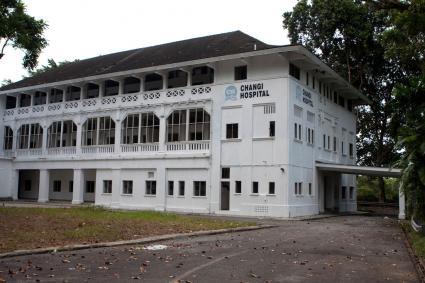 Changi Hospital in Singapore
