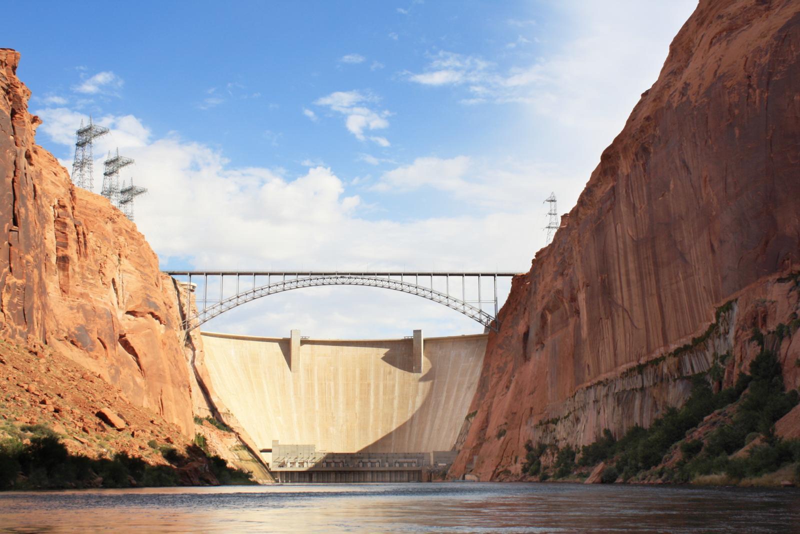 Arch Bridge By Hoover Dam