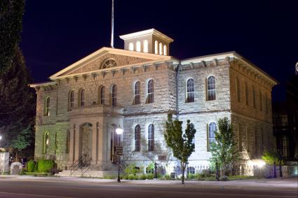 The Nevada State Museum, in Carson City