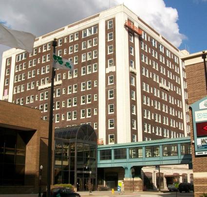 Hotel Blackhawk, Davenport