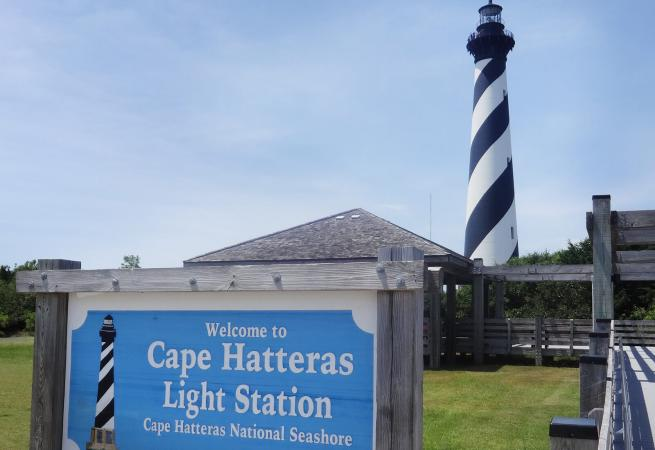 Cape Hatteras Lighthouse, Cape Hatteras, Outer Banks, North Carolina