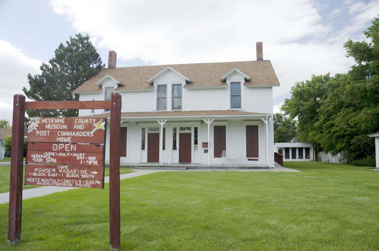 Cheyenne County Museum and Fort Sidney Barracks, Sidney, Nebraska