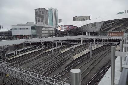 Birmingham New Street Station, Birmingham, UK