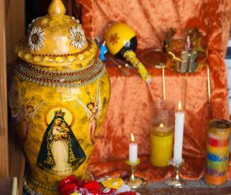Santería altar