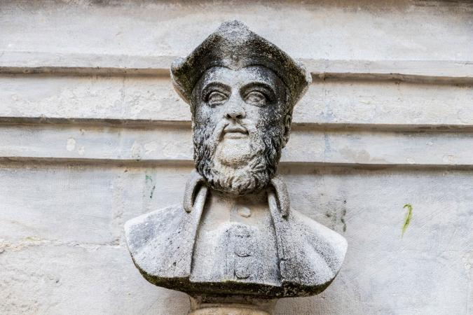 Nostradamus sculpture in Saint Remy de Provence