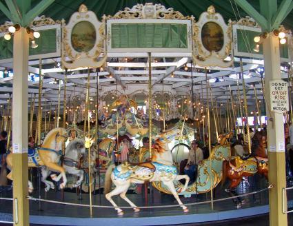 Crescent Park Carousel, Riverside RI