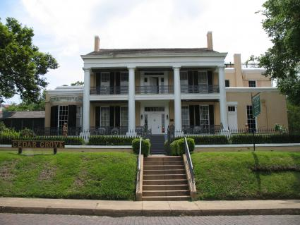 Cedar Grove in Vicksburg Mississippi