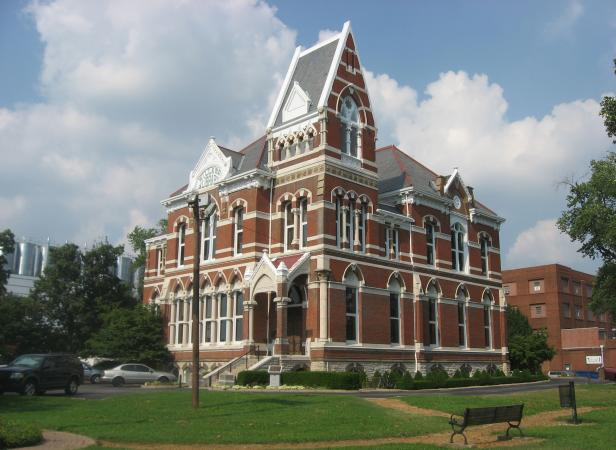 Willard Library in Evansville Indiana