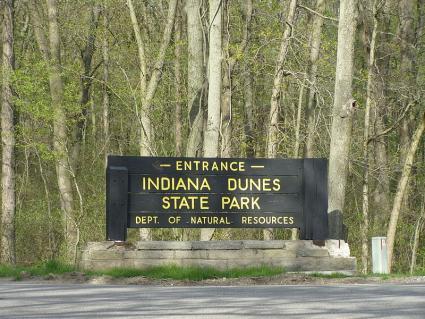 Indiana of the Dunes Signage
