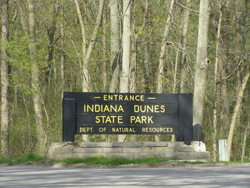 Indiana of the Dunes Signage