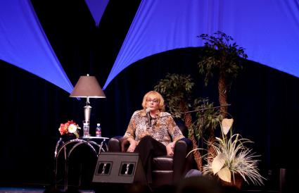 Sylvia Browne Performs