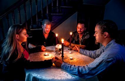 Ouija board chants