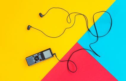 Recorder With Headphones