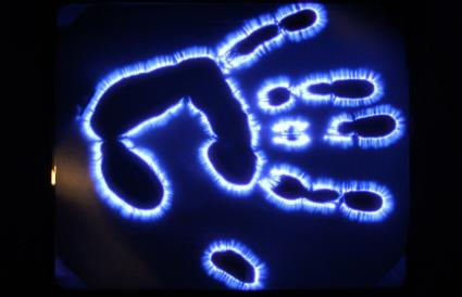 Kirlian Photograph of Hand