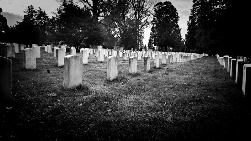 Gettysburg Cemetery in Pennsylvania