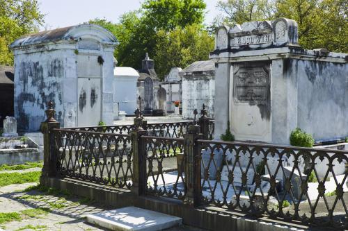 Lafayette Cemetery in NOLA
