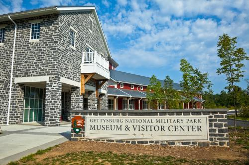 visitor's center at Gettysburg Battlefield