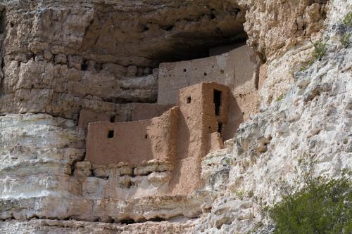 Montezuma's Castle Hopi ancestral cave dwellings