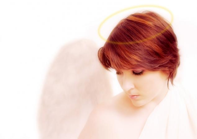 Red Haired Guardian Angel