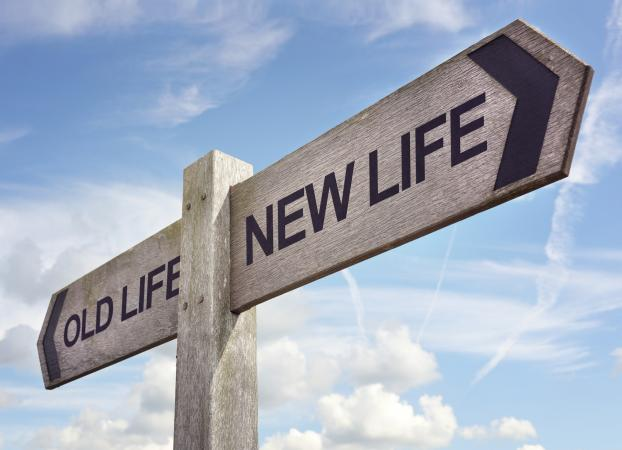 Old life, new life sign