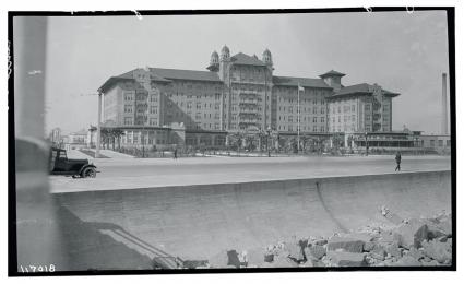 Vintage photo of Hotel Galvez, Galveston