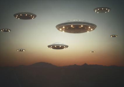 Fleet of UFOs