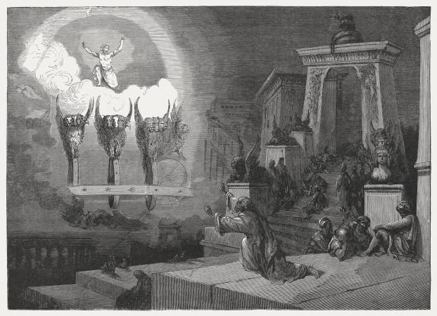 Ezekiel's vision of the glory of God