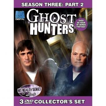 Ghost Hunters season 3 DVD