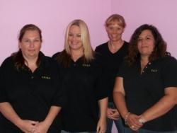 Original team: Bobbi-Jo, Jennifer, Lynda and Kimberly; Image used with permission from Vickie L. Burnett
