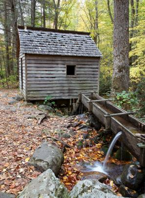 Old grist mill in Tennessee.