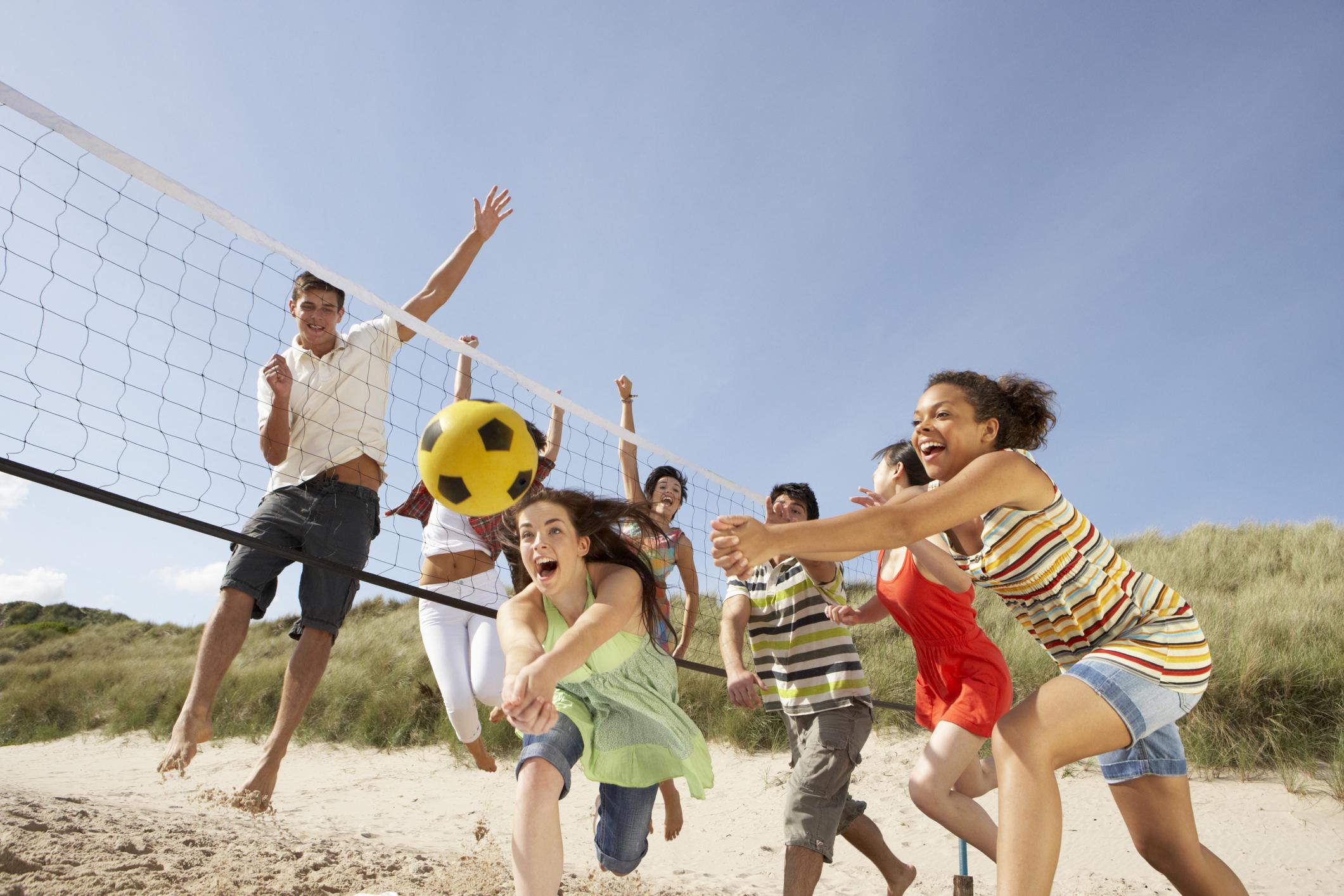 beach party spiele