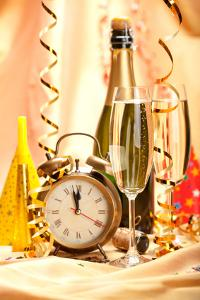 New Year's Eve Party Centerpieces