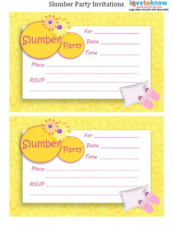 Yellow Flower Invitation