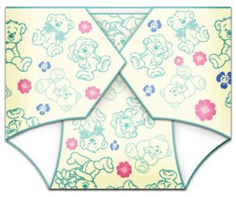 Gender Neutral Diaper Invitation