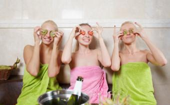 pampering spa party