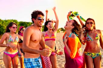 Beach Party for Teenagers
