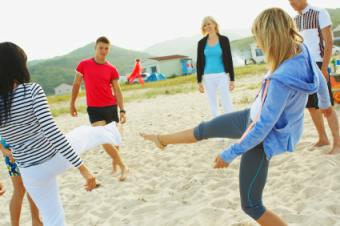 beach party game