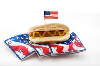Roasted hot dog