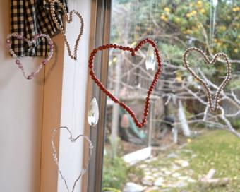 Beaded Hearts by Vintage Muse Modern Views