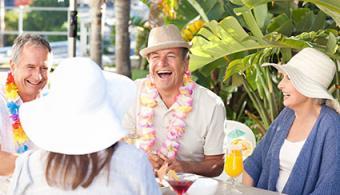 Hawaiian themed party