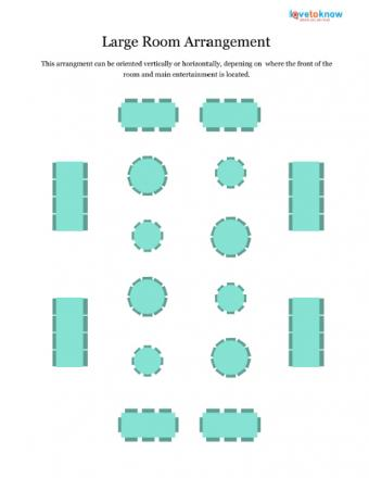 Large room arrangement