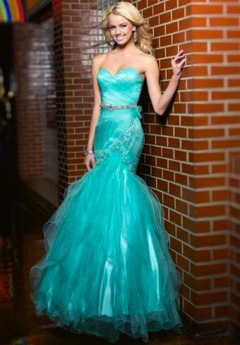Seafoam Mermaid Dress from Peaches Boutique
