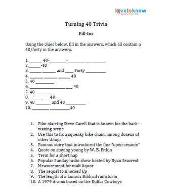 Print fill-in-the-blank trivia clues.